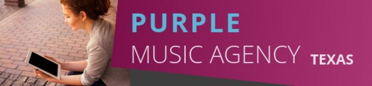 The Website of Purple Music Agency